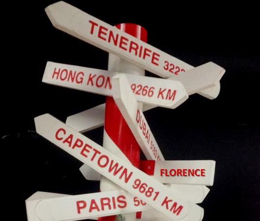 Florence experience wet via Amsterdam Schipol! #visitfirenze #destination2016