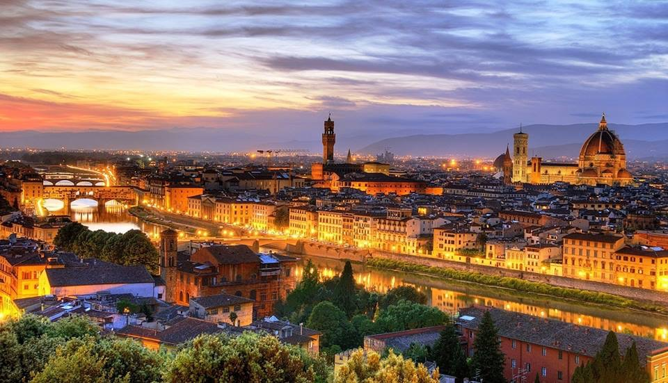 A breathtaking view of Florence, Simply divine! #visittuscany