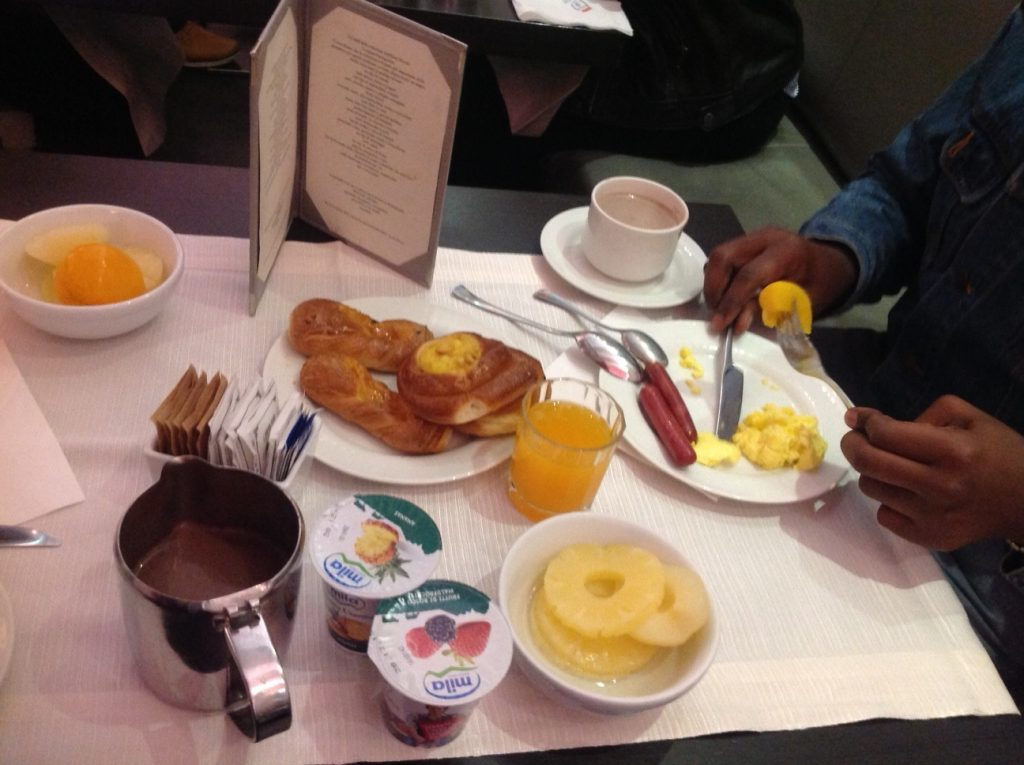 Our breakfast at The Rivoli Hotel, simply delicious! #therivoli