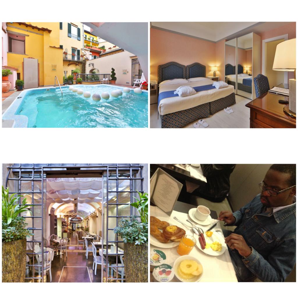 Our Quaint Hotel Rivoli, Florence. Loved it #therivoli