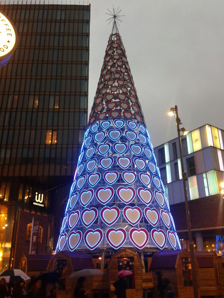 Our Gorgeous City Christmas Tree A Piece of Art!