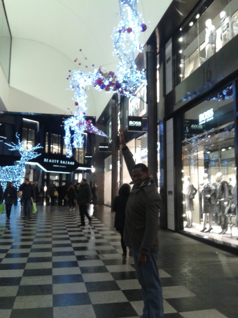 Christmas in Liverpool - late night shopping! #liverpoolone #christmas