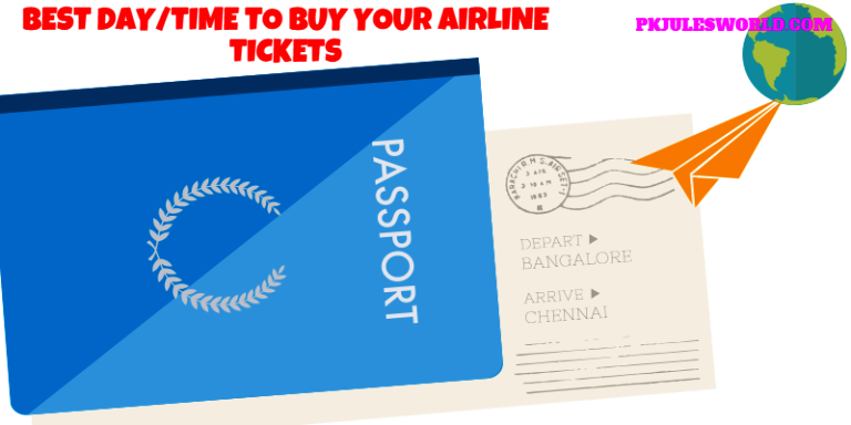 The Best Day and Time When to buy Airline Tickets! #travelhacks
