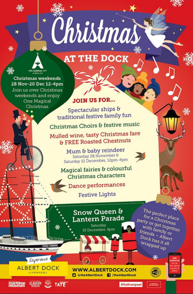 Christmas in Liverpool, The Albert Docks Extravaganza! #albertdocks