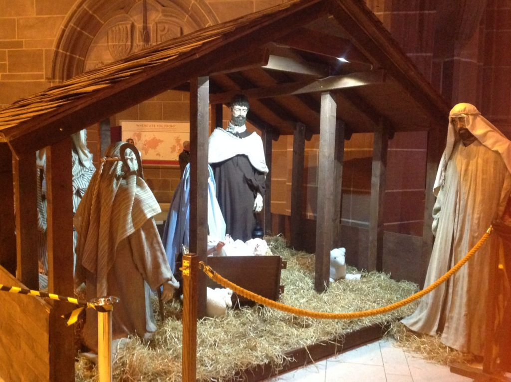 Liverpool Cathedral Nativity Scene - Christmas in Liverpool