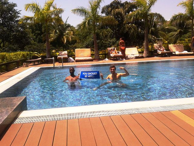 The JW Pune Marriott Pool! #YSBH #Dreamtrips