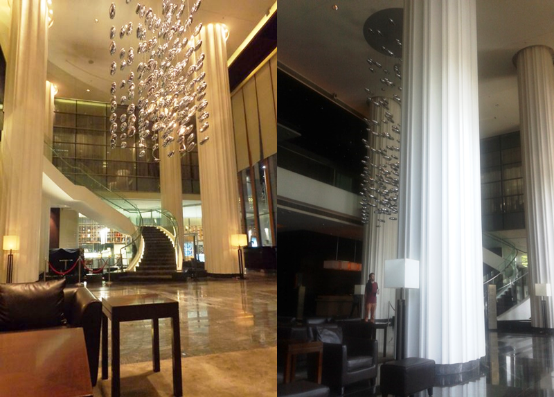 The JW Marriot Foyer - Tour of Pune! #marriotthotels #traveltuesday