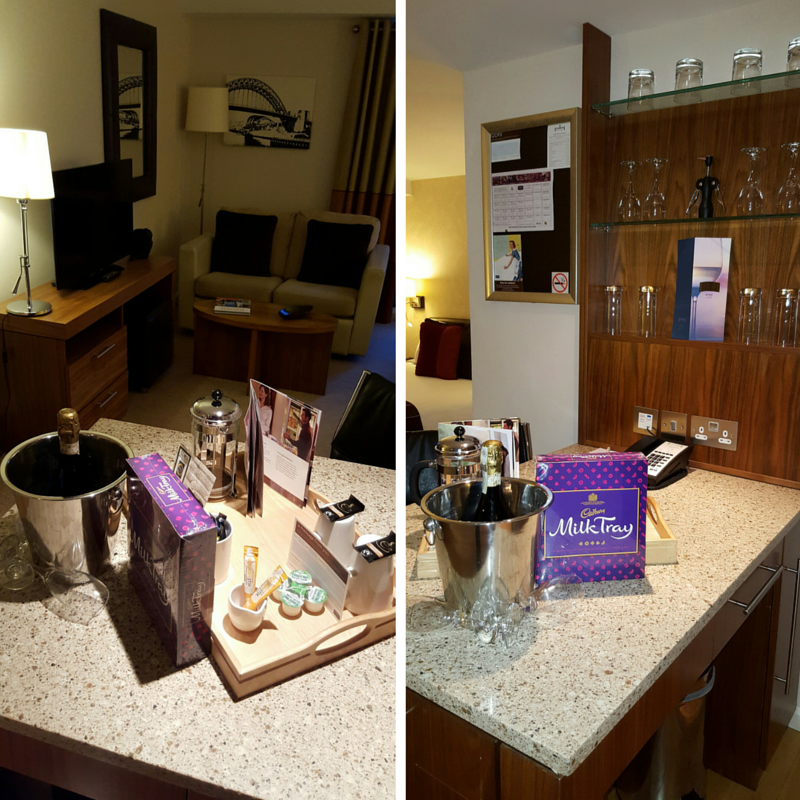 Welcome Treat at The Staybridge Suites Tyneside New Castle! #Staybridgesuites #ihg