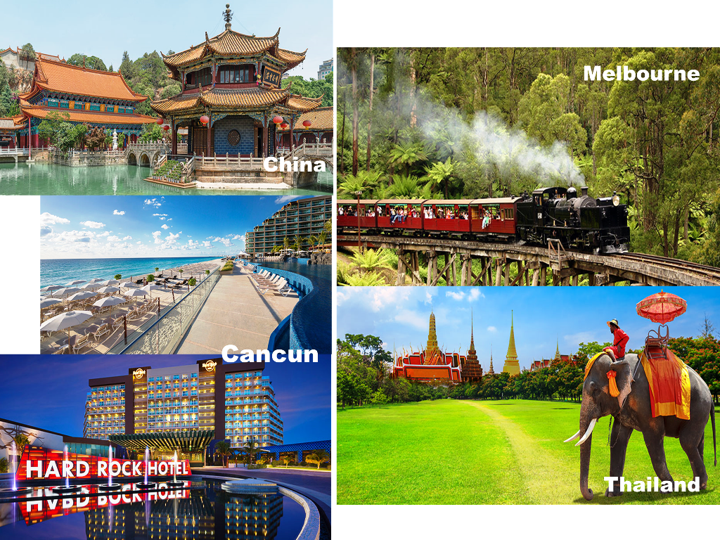 A Snippet of The Travel Club Detinations! #worldtravel #dreamtrips