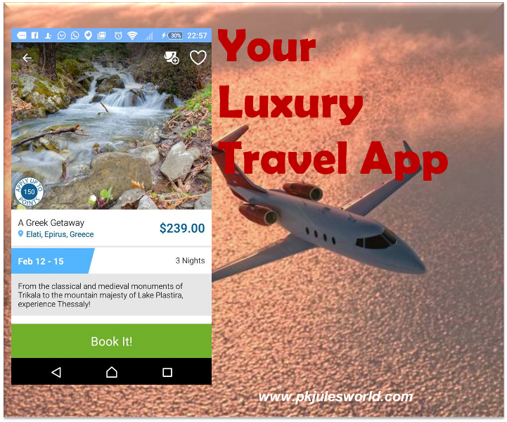 World's Most Stylish and Practical Luxury Travel app! #travelapps #TravelTuesday