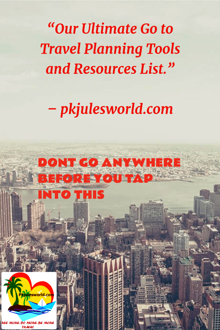 Our Go to Travel Planning tools and Resources #traveltools #traveling