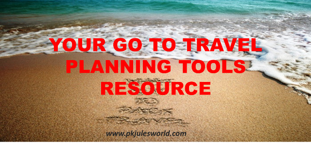 Our Go to Travel Planning tools and Resources. #traveltools #GoToob