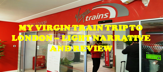 My Virgin Train to London Experience! #virgintrains #traintravel