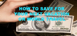 You don't have to give up your Social Life - how to save for a vacation!