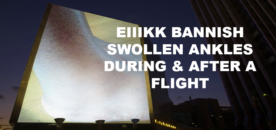 14 Effective Steps to Prevent Swollen Ankles During a Flight! #traveltips