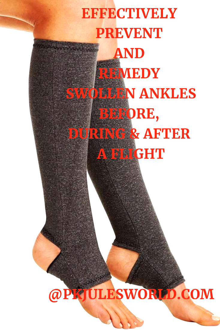 14 tips to Survive swollen ankles during a flight!