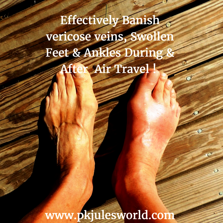 14 tips to Avoid or Get rid of heavy legs when flying! #travelwelllness #airtraveltips