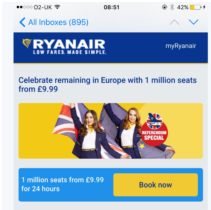 Potential Effects of Brexit to Air Travel #Ryanairgaff