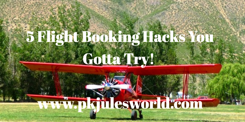 5 Lessons I've Learned from Flight Booking Hacks - CHeaper Travel! #airtravelhacks