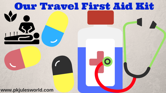 Our Travel First Aid Kit – 20 Essential things for your Trips! #travelwellness #traveltuesday