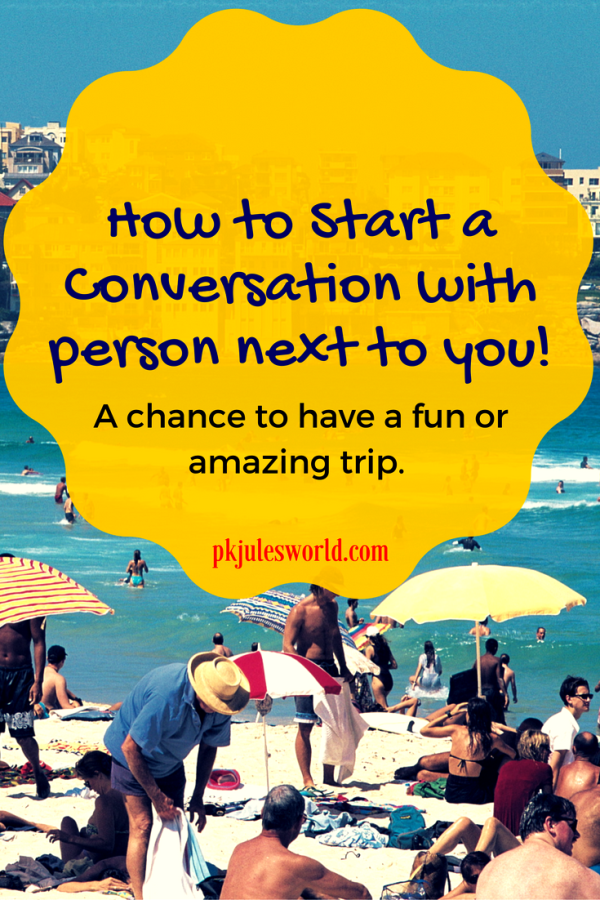 Want to successfully chat up a fellow traveller on your flight? Here are 6 effective ice breakers to help you start a conversation and possibly ease an otherwise boring time. #traveltips #startaconversation #icebreakers