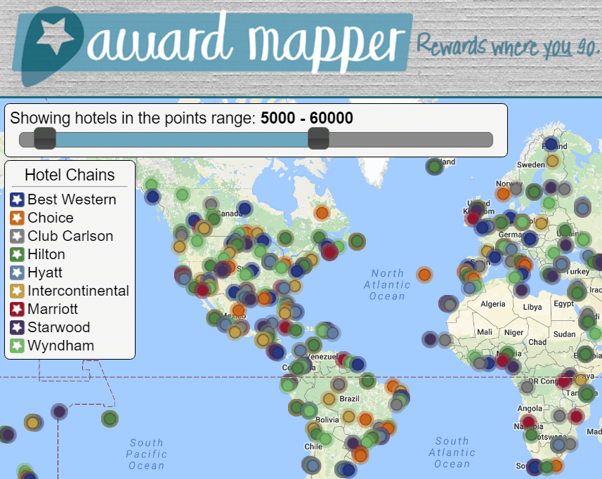 Travel Resources we use on the go | #Awardmapper