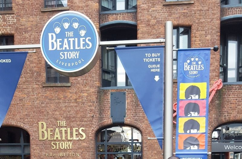 The Beatles Story on the Liverpool Waterfront- Albert dock @pkjulesworlf