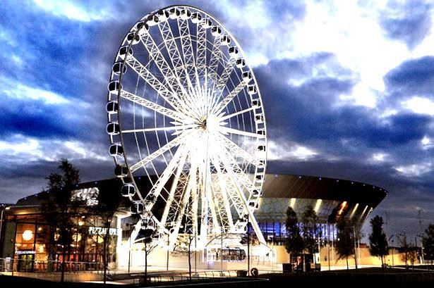 What to do in Liverpool - Get kon the Liverpool Big Wheel