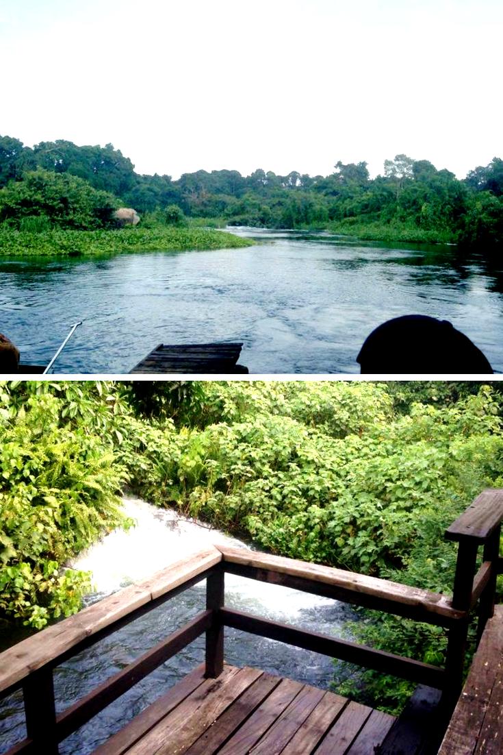 Uganda a Safari Destination - accommodation in the natural settings; refreshing!