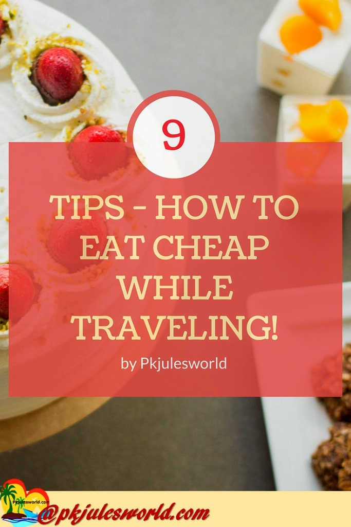How to Eat Cheap While Traveling and save a ton of money! #TravelTuesday #TastyTuesday