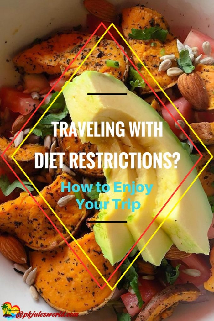 Traveling with diet restrictions| travel with food allergy| gluten free travel| food allergies| food allergy| vegetarian| vegetarian travel| kosher travel|