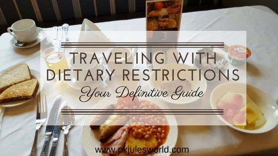 How Traveling with diet restrictionshouldnt affect your enjoyment of a trip or vacation! #TravelTuesday
