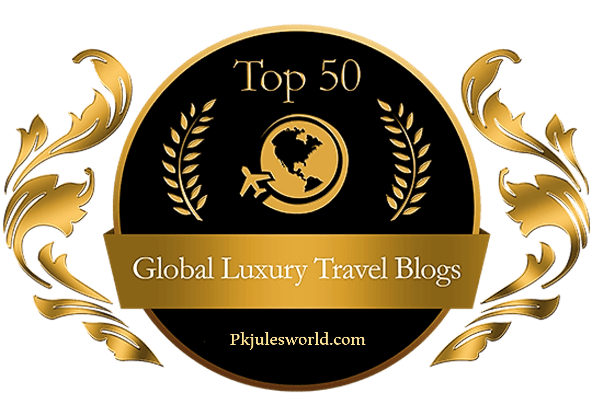 Pkjulesworld Top 50 Luxury Travel Blogs 2018 - By Amsterdamdiary