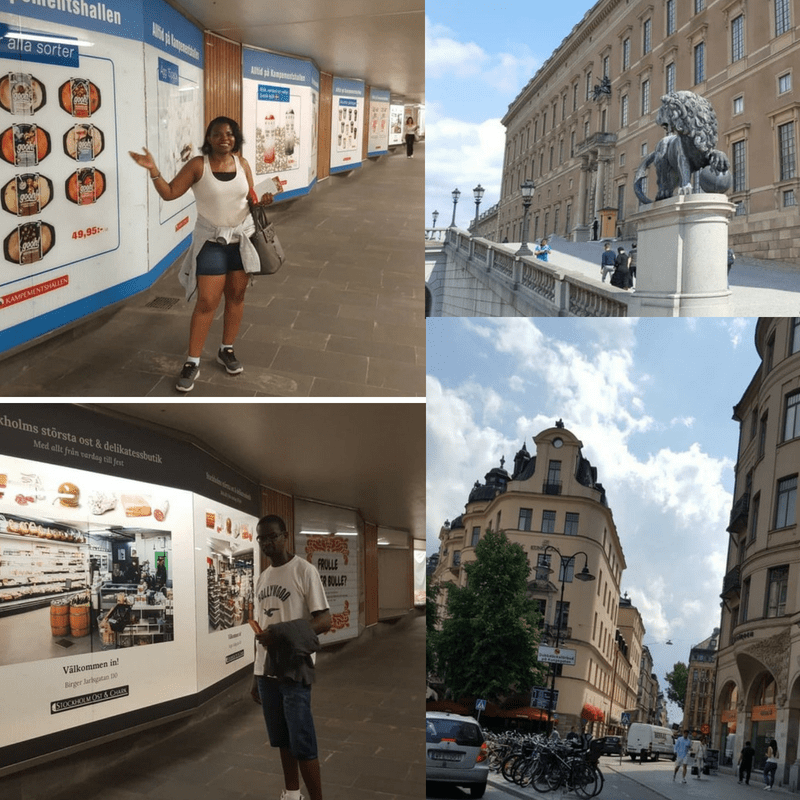 Stockholm Sweden Perfect Itinerary for beginners - The Underground to Karlaplan.