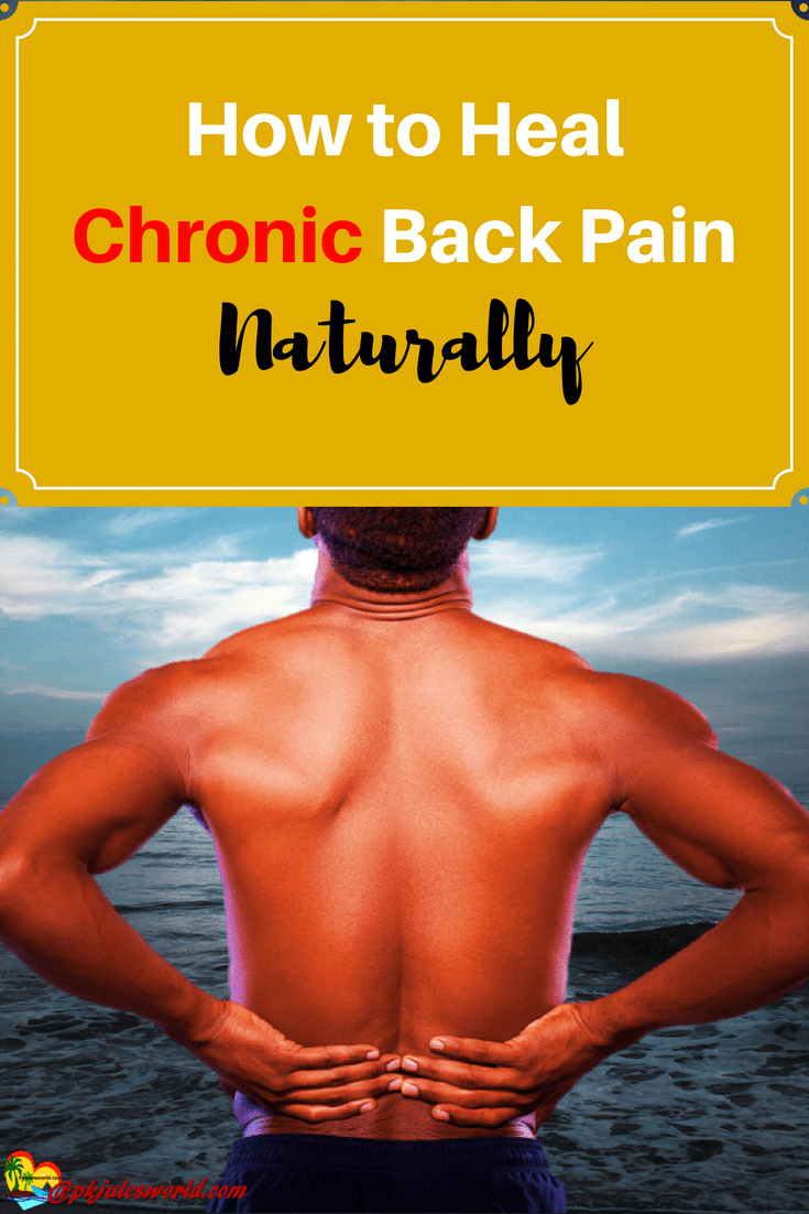 How to heal chronic back Pain naturally with the power of your mind, exercise and Intentional meditation.