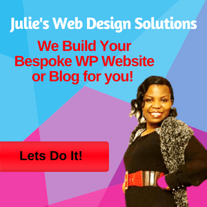 Julie's Web Design Solutions, for all your web development and maintenance needs