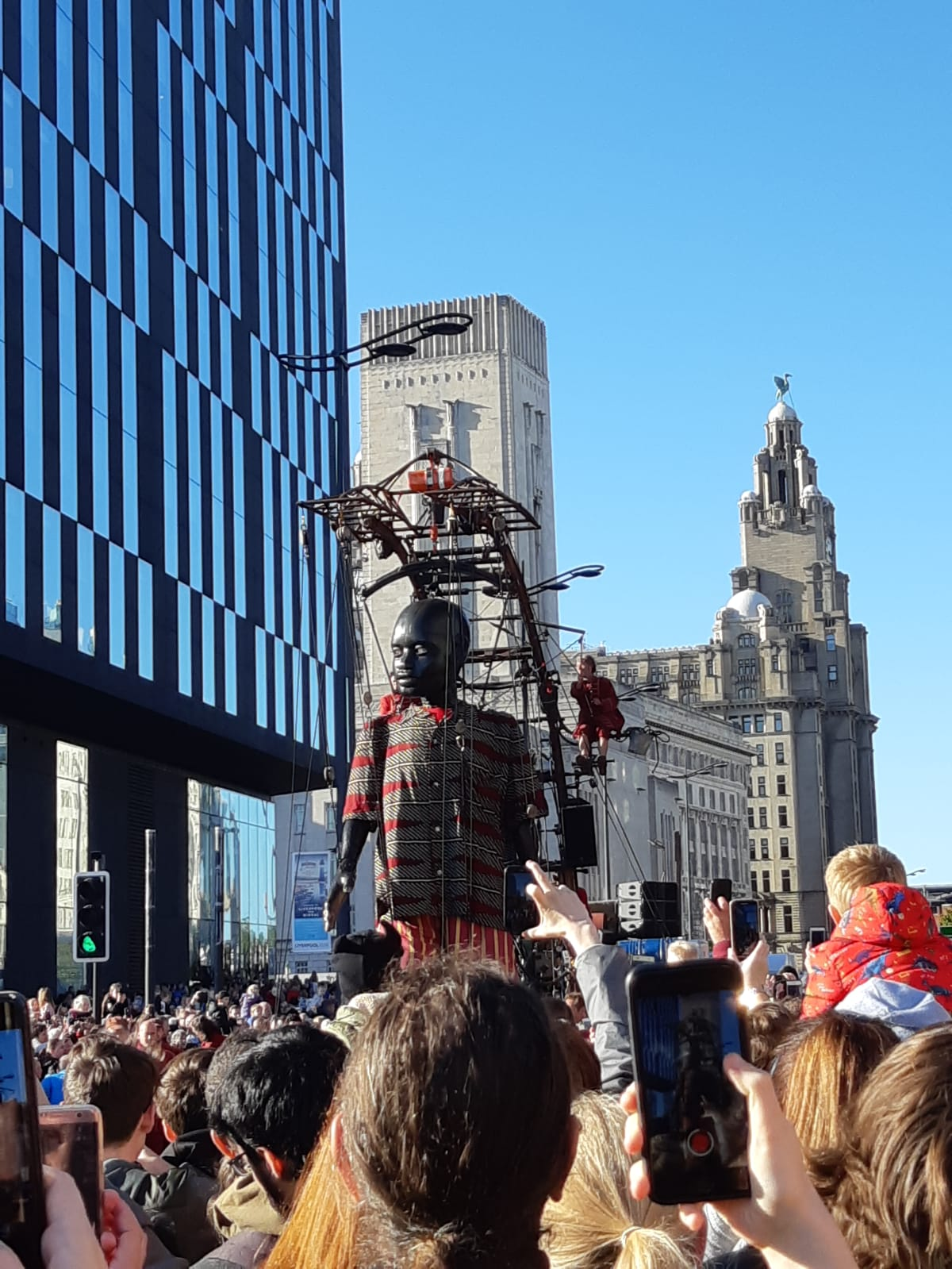 The final Curtain call of the Liverpool Giants exploring the city has come to an end - take a look at some of our favourite pictures from the Gigantic weekend! (Pun intended)