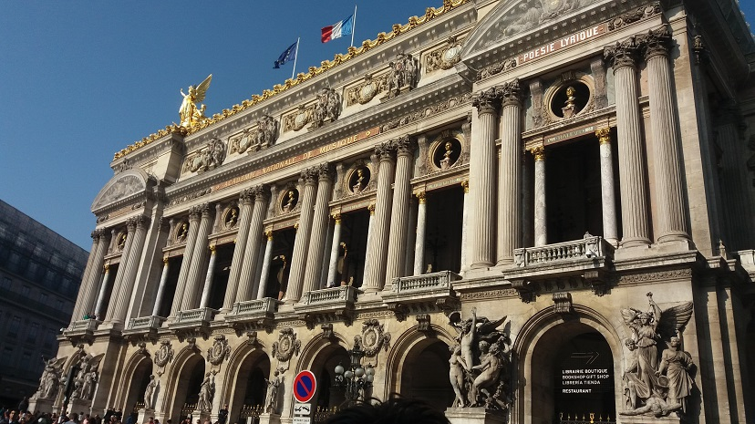 A day in Paris - London to Paris by Eurostar - Paris Opera House!