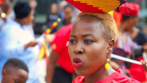Uganda She Cranes - Netball world Cup 2019
