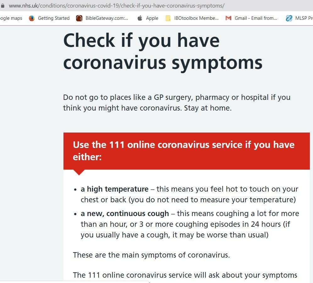 How I beat CoronaVirus