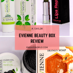 JK Taylor of London Evienne Beauty Box Review - Products